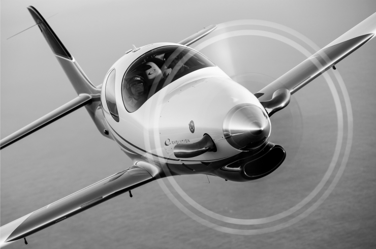 Evolution Turbine Airplane